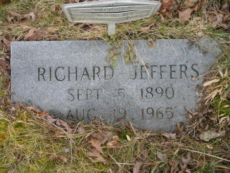 JEFFERS, RICHARD - Scott County, Tennessee | RICHARD JEFFERS - Tennessee Gravestone Photos