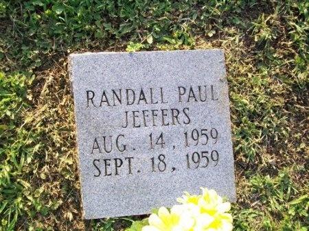 JEFFERS, RANDALL PAUL - Scott County, Tennessee   RANDALL PAUL JEFFERS - Tennessee Gravestone Photos