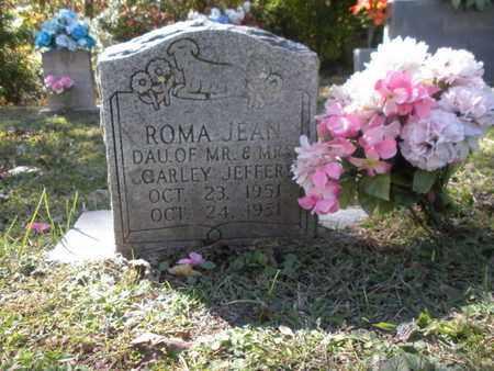 JEFFERS, ROMA JEAN - Scott County, Tennessee | ROMA JEAN JEFFERS - Tennessee Gravestone Photos