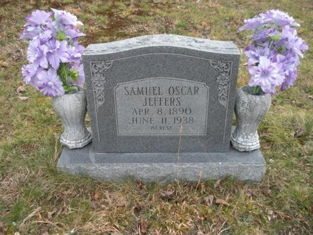 JEFFERS, SAMUEL OSCAR - Scott County, Tennessee | SAMUEL OSCAR JEFFERS - Tennessee Gravestone Photos
