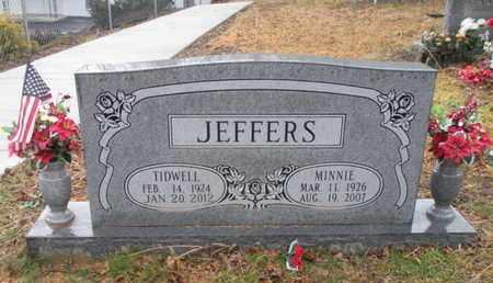 JEFFERS, MINNIE - Scott County, Tennessee | MINNIE JEFFERS - Tennessee Gravestone Photos
