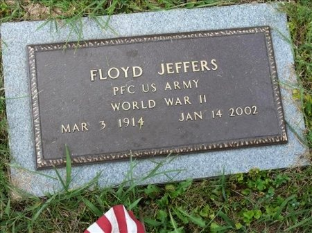 JEFFERS (VETERAN WWII), FLOYD - Scott County, Tennessee | FLOYD JEFFERS (VETERAN WWII) - Tennessee Gravestone Photos