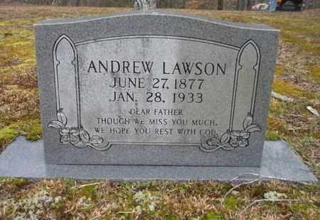 LAWSON, ANDREW - Scott County, Tennessee | ANDREW LAWSON - Tennessee Gravestone Photos