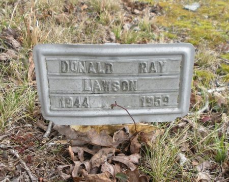 LAWSON, DONALD RAY - Scott County, Tennessee | DONALD RAY LAWSON - Tennessee Gravestone Photos