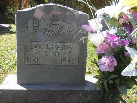 LAWSON, EVA - Scott County, Tennessee | EVA LAWSON - Tennessee Gravestone Photos