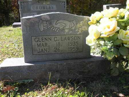 LAWSON, GLENN C - Scott County, Tennessee | GLENN C LAWSON - Tennessee Gravestone Photos