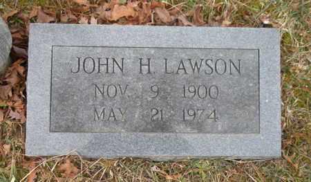 LAWSON, JOHN H - Scott County, Tennessee | JOHN H LAWSON - Tennessee Gravestone Photos
