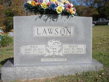 LAWSON, MACK - Scott County, Tennessee | MACK LAWSON - Tennessee Gravestone Photos