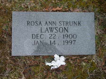 LAWSON, ROSA ANN - Scott County, Tennessee | ROSA ANN LAWSON - Tennessee Gravestone Photos