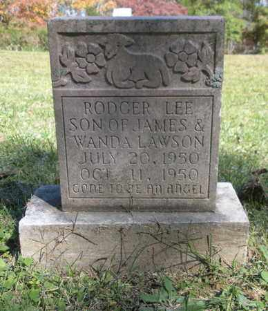 LAWSON, ROGER LEE - Scott County, Tennessee | ROGER LEE LAWSON - Tennessee Gravestone Photos