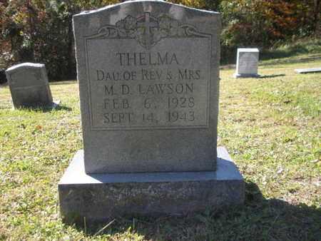 LAWSON, THELMA - Scott County, Tennessee   THELMA LAWSON - Tennessee Gravestone Photos