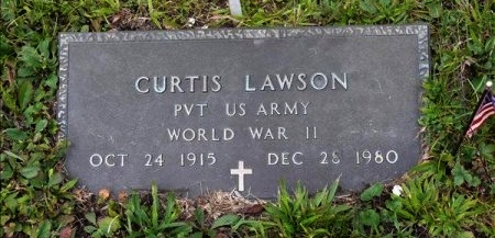 LAWSON (VETERAN WWII), CURTIS - Scott County, Tennessee | CURTIS LAWSON (VETERAN WWII) - Tennessee Gravestone Photos
