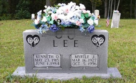 LEE, KENNETH O. - Scott County, Tennessee | KENNETH O. LEE - Tennessee Gravestone Photos