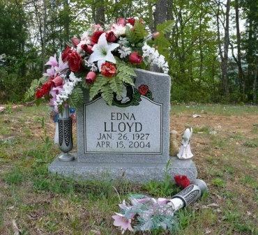 LLOYD, EDNA - Scott County, Tennessee   EDNA LLOYD - Tennessee Gravestone Photos