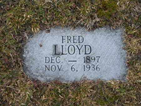 LLOYD, FRED - Scott County, Tennessee | FRED LLOYD - Tennessee Gravestone Photos