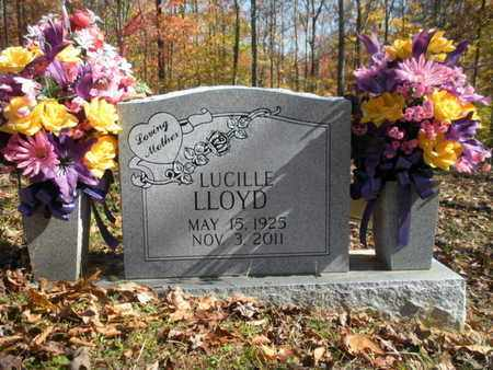 LLOYD, LUCILLE - Scott County, Tennessee | LUCILLE LLOYD - Tennessee Gravestone Photos