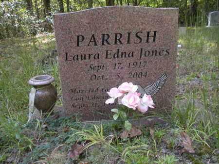 JONES PARRISH, LAURA EDNA - Scott County, Tennessee | LAURA EDNA JONES PARRISH - Tennessee Gravestone Photos