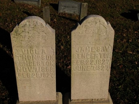 PEMBERTON, VIOLA A. - Scott County, Tennessee   VIOLA A. PEMBERTON - Tennessee Gravestone Photos