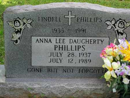 PHILLIPS, LINDELL - Scott County, Tennessee | LINDELL PHILLIPS - Tennessee Gravestone Photos