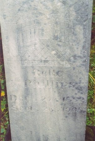 "PHILLIPS, CHARNETTI ISABELLE ""BELLE"" - Scott County, Tennessee | CHARNETTI ISABELLE ""BELLE"" PHILLIPS - Tennessee Gravestone Photos"
