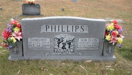 PHILLIPS, BOB ELVIN - Scott County, Tennessee | BOB ELVIN PHILLIPS - Tennessee Gravestone Photos