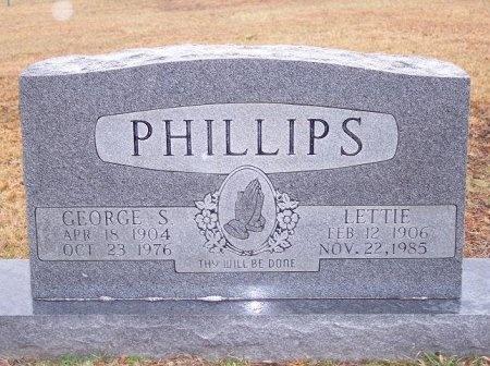 PHILLIPS, LETTIE - Scott County, Tennessee | LETTIE PHILLIPS - Tennessee Gravestone Photos
