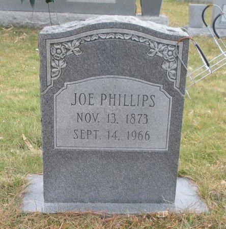 PHILLIPS, JOE - Scott County, Tennessee | JOE PHILLIPS - Tennessee Gravestone Photos