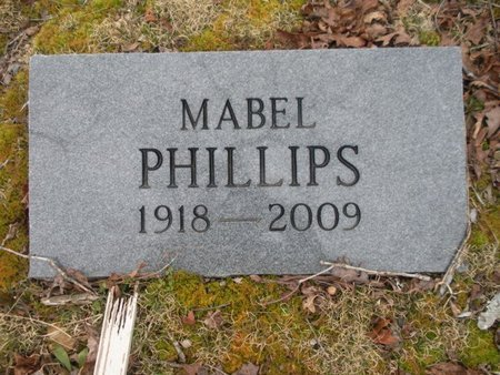 PHILLIPS, MABEL - Scott County, Tennessee | MABEL PHILLIPS - Tennessee Gravestone Photos