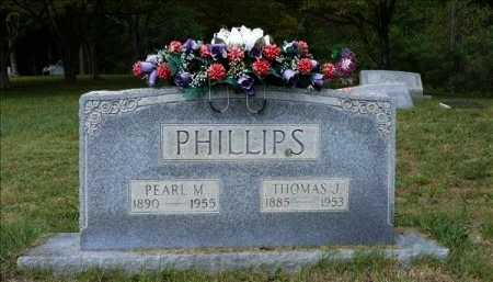 BUNCH PHILLIPS, PEARL MAE - Scott County, Tennessee | PEARL MAE BUNCH PHILLIPS - Tennessee Gravestone Photos