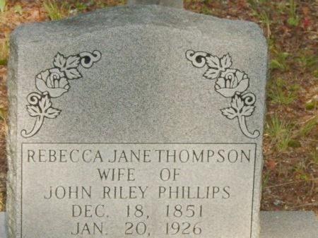 PHILLIPS, REBECCA JANE - Scott County, Tennessee | REBECCA JANE PHILLIPS - Tennessee Gravestone Photos