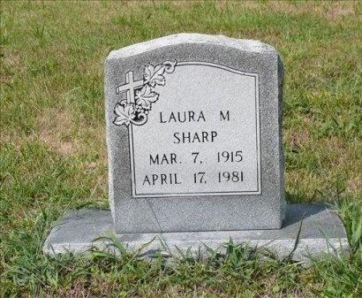 MARCUM SHARP, LAURA MAE - Scott County, Tennessee | LAURA MAE MARCUM SHARP - Tennessee Gravestone Photos
