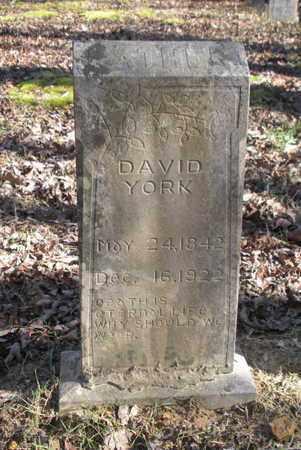 YORK, DAVID - Scott County, Tennessee | DAVID YORK - Tennessee Gravestone Photos