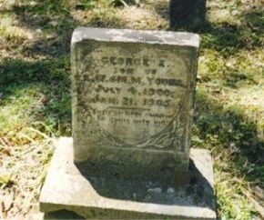YOUNG, GEORGE E. - Scott County, Tennessee | GEORGE E. YOUNG - Tennessee Gravestone Photos