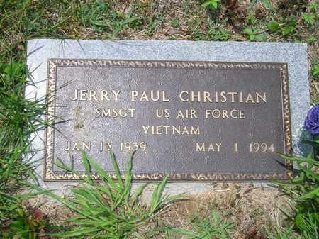 CHRISTIAN (VETERAN VIET), JERRY PAUL - Sequatchie County, Tennessee | JERRY PAUL CHRISTIAN (VETERAN VIET) - Tennessee Gravestone Photos
