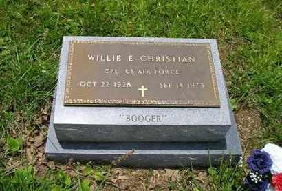 CHRISTIAN (VETERAN), WILLIE E. - Sequatchie County, Tennessee   WILLIE E. CHRISTIAN (VETERAN) - Tennessee Gravestone Photos