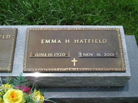 HATFIELD, EMMA DORLAS - Sequatchie County, Tennessee | EMMA DORLAS HATFIELD - Tennessee Gravestone Photos