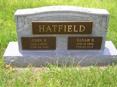 HATFIELD, SARAH EMALINE - Sequatchie County, Tennessee | SARAH EMALINE HATFIELD - Tennessee Gravestone Photos