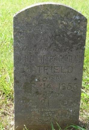 HATFIELD, NANCY - Sequatchie County, Tennessee | NANCY HATFIELD - Tennessee Gravestone Photos