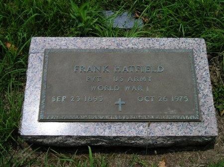 HATFIELD (VETERAN WWI), FRANK  - Sequatchie County, Tennessee | FRANK  HATFIELD (VETERAN WWI) - Tennessee Gravestone Photos
