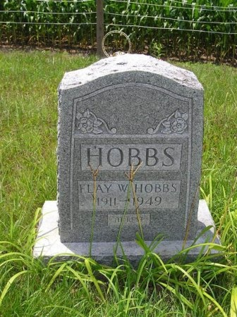 HOBBS, FLAY W. - Sequatchie County, Tennessee | FLAY W. HOBBS - Tennessee Gravestone Photos