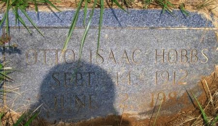 HOBBS, OTTO ISAAC - Sequatchie County, Tennessee | OTTO ISAAC HOBBS - Tennessee Gravestone Photos