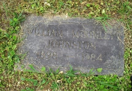JOHNSTON, WILLIAM MCKINLEY - Sequatchie County, Tennessee | WILLIAM MCKINLEY JOHNSTON - Tennessee Gravestone Photos