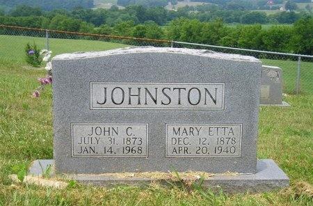 JOHNSTON, JOHN CALVIN - Sequatchie County, Tennessee | JOHN CALVIN JOHNSTON - Tennessee Gravestone Photos
