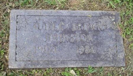 "JOHNSTON, TRESSIE ""AUDREY"" - Sequatchie County, Tennessee | TRESSIE ""AUDREY"" JOHNSTON - Tennessee Gravestone Photos"