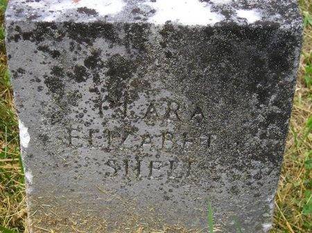 SHELL, CLARA ELIZABETH - Sequatchie County, Tennessee   CLARA ELIZABETH SHELL - Tennessee Gravestone Photos