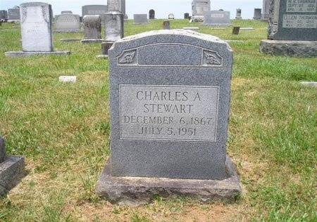STEWART, CHARLES A. - Sequatchie County, Tennessee | CHARLES A. STEWART - Tennessee Gravestone Photos
