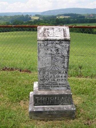 THURMAN, E. H. - Sequatchie County, Tennessee | E. H. THURMAN - Tennessee Gravestone Photos