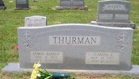 THURMAN, EDWIN BARKER - Sequatchie County, Tennessee | EDWIN BARKER THURMAN - Tennessee Gravestone Photos