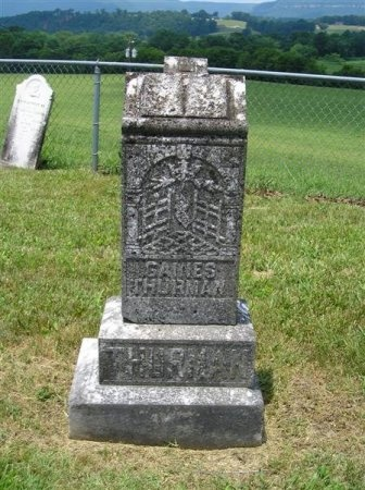 THURMAN, GAINES - Sequatchie County, Tennessee   GAINES THURMAN - Tennessee Gravestone Photos