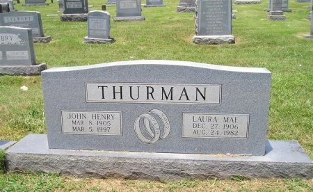 THURMAN, JOHN HENRY - Sequatchie County, Tennessee | JOHN HENRY THURMAN - Tennessee Gravestone Photos